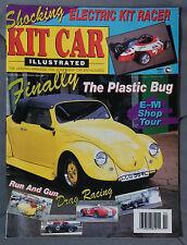 KIT CAR ILLUSTRATED AUTOMOTIVE MAGAZINE 1993 FEBRUARY VW BEETLE BUG COBRA SHELBY