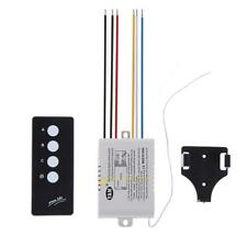 3 Way Port ON/OFF 220V Lamp Light Digital Wireless Remote Control Switch