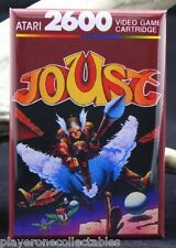 "Joust Atari 2600 Game Box 2"" X 3"" Fridge / Locker Magnet. Vintage Video Game."