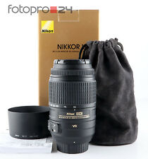 Nikon AF-S Nikkor 55-300 mm 4.5-5.6 DX g ed VR + embalaje original + Top (200009)
