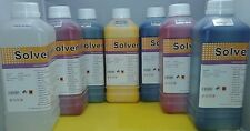 6L Eco Solvent Ink + 1L Cleaner Solution Roland Mutoh Mimaki DX4 DX5  USA Ship
