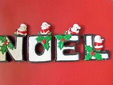 VINTAGE CHRISTMAS ~NOEL ~ N O E L  SANTA FIGURINES ~