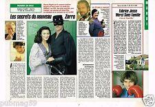 Coupure de presse Clipping 1990 (1 page 1/2) Secrets du Nouveau Zorro