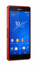 Sony XPERIA Z3 Compact 16GB 4G LTE WaterProof Mobile Unlock Orange Smartphone