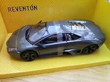 Mondo Motors 50040 LAMBORGHINI REVENTON pressofusione SPORTS CAR GUNMETAL GREY 1:18 TH