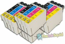 16 Compatible 'Teddy Bear' T0615 Non-oem Ink Cartridge for Epson Stylus X4850