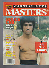 Inside Karate Martial Arts Masters Magazine March 1992 Bruce Lee