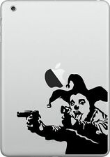 Decal per iPad 1 2 3 4 air mini Adesivo In Vinile tablet apple banksy joker