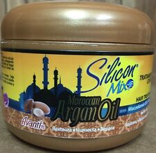 SILICON MIX ARGAN OIL HAIR MASK TREATMENT 8 OZ