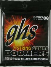 GHS Boomers Electric Guitar Strings  7-string set 9-62   GB7CL