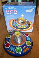 VINTAGE UFO SUPER BLOWING BALL SERIES II TIN PLATE SPACE CRAFT TOY 1970s BOXED