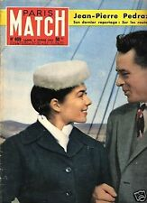 paris match n°409 / pedrazzini helene de france / 1957