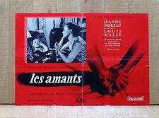LES AMANTS fotobusta poster Louis Malle Jeanne Moreau