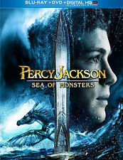 Percy Jackson: Sea of Monsters (Blu-ray Disc, 2013) Good Condition