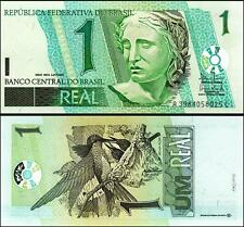 BRAZIL 1 REAL 2003 UNCIRCULATED SERIAL - AC - P.251 BIRDS