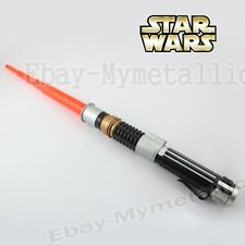 Star Wars Shrinkable Lightsaber Sword Weapon Toy Color Red Loose