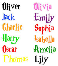 Personalized Harry Potter Boys or Girls Name Deco Vinyl Wall Sticker Decal  N4