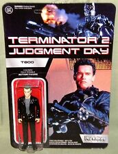T800 ARNOLD SCHWARZENEGGER ReAction Super 7 TERMINATOR 2 Retro Figure Funko