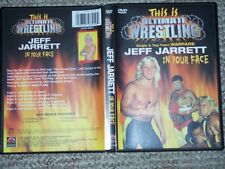 This is Ultimate Wrestling Jeff Jarrett In Your Face DVD WWE WWF WCW ECW TNA ROH