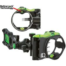 IQ Bowsight 3 Pin IQ Micro Bowsight with Retna Lock Right Hand #00321 Bow Sight