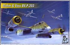 Unicraft Models 1/72 BLOHM und VOSS Bv.P.203 German Long Range Fighter Project