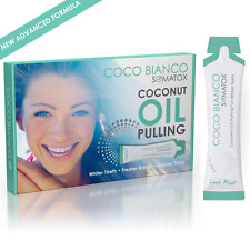 SOMATOX COCO BIANCO - Coconut Oil Pulling Teeth Whitening - Coco White Cocowhite