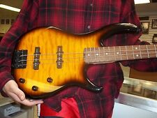 Peavey Millennium 4 String Bass Guitar - Quilted Sunburst A Real Real Beauty WOW
