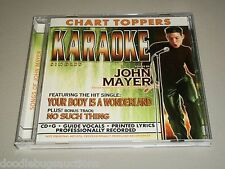 BCI Karaoke YOUR BODY IS A WONDERLAND John Mayer No Such Thing Song Track CD+G