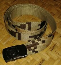 Mexican Army Desert Digital Camo Uniform Belt with Buckle Military Mexico