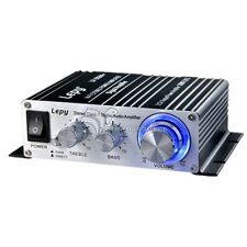 Lepai LP-2024 HI-FI Mini Digital Stereo Digital Audio Amplifier w/ Power Adapter