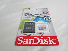 SanDisk 32GB Mobile Ultra MicroSD HC Class 10 48MB/S Memory Card with SD Adapter