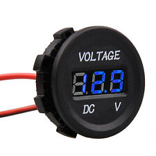 Automobile Car Motorcycle LED Panel Digital Voltage Meter Display Voltmeter 12V