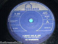 "VINYL 7"" SINGLE - THE MINDBENDERS - A GROOVY KIND OF LOVE - TF 644"