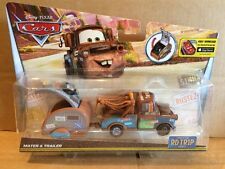 DISNEY CARS DIECAST - New 2016 Release - Road Trip Mater & Trailer