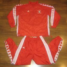 Adidas NC STATE WOLFPACK Track Field North Carolina vtg Suit Jacket Pants M L