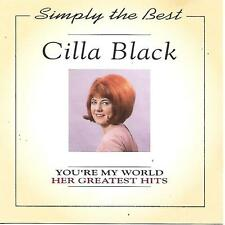 CILLA BLACK You're my world Her Greatest Hits Simply the best Woodford Music rar