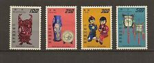 CHINA TAIWAN 1967 Sc#1519-22 , Handicrafts ,MHR. O.Gum.
