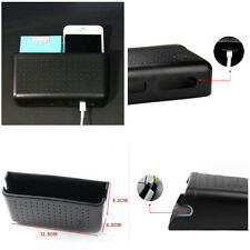 Auto Multifunction Cell Phone Sundries Storage Box With Charging Hole Organizer