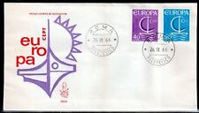 EUROPA CEPT FDC 1966 ITALIE 1