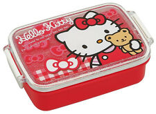 Microwavable Kids Bento Box Sanrio Hello Kitty Lunch Snack Container Japan Made