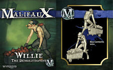 Malifaux Arcanists Willie the Demolitionist box plastic Wyrd miniatures 32 mm