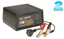 PROJECTA AC400 6V & 12V AUTOMATIC BATTERY CHARGER, CAR BIKE BOAT AND TRICKLE