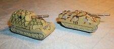 MICRO MACHINES  TANK/MILITARY LOT OF 2 LIGHTS & SOUNDS GREAT SHAPE