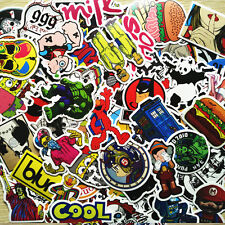 600 PCS Colorful Skateboard Bike Luggage Car Laptop Decals Sticker Mix Lot
