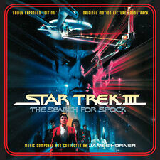 Star Trek III The Search For Spock - 2 x CD Complete Score - James Horner
