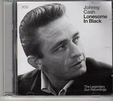 (FD344) Johnny Cash, Lonesome In Black - 2CDS - 2004