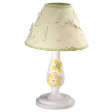 Bright Blossoms Butterfly Nursery Lamp With Shade New In The Box