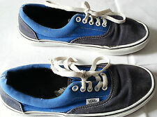 vans blue black off the wall unisex shoe size mens 6 womans 7.5 T376