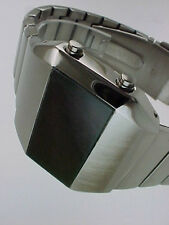RARO vecchio stile moderno FUTURISTA ANNI 70 ANNI'70 SPACE AGE Uomo LED L.E.D WATCH 3