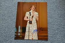 MELISSA LEO signed Autogramm In Person 20x25 cm OSCAR 2012 THE FIGHTER